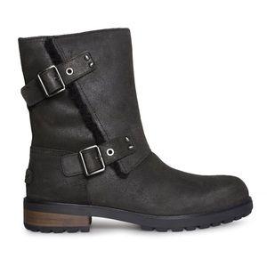 NWT UGG Womens Niels II Boots in Black, 8,5